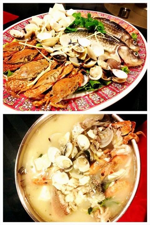 海鲜大盘鱼 - 五山的蜗牛美食会所)