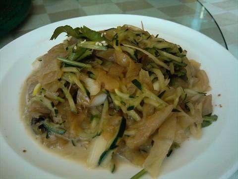 餐厅 北京 十里堡 郭林家常菜 食评 郭林  香酥肘花,这个菜做法挺新鲜