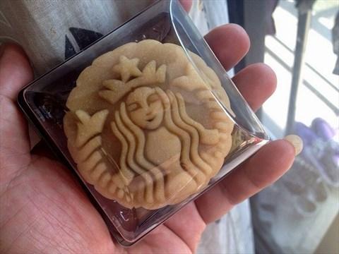 咖啡月饼 - 梨园的星巴克)图片