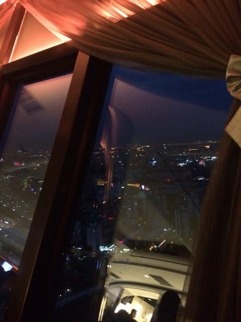 餐厅 北京 航天桥 中央电视塔空中观景旋转餐厅 食评 中央电视塔旋转