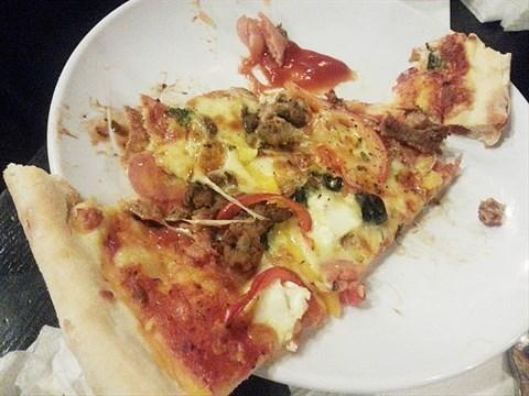 中号尺寸垃圾桶披萨
